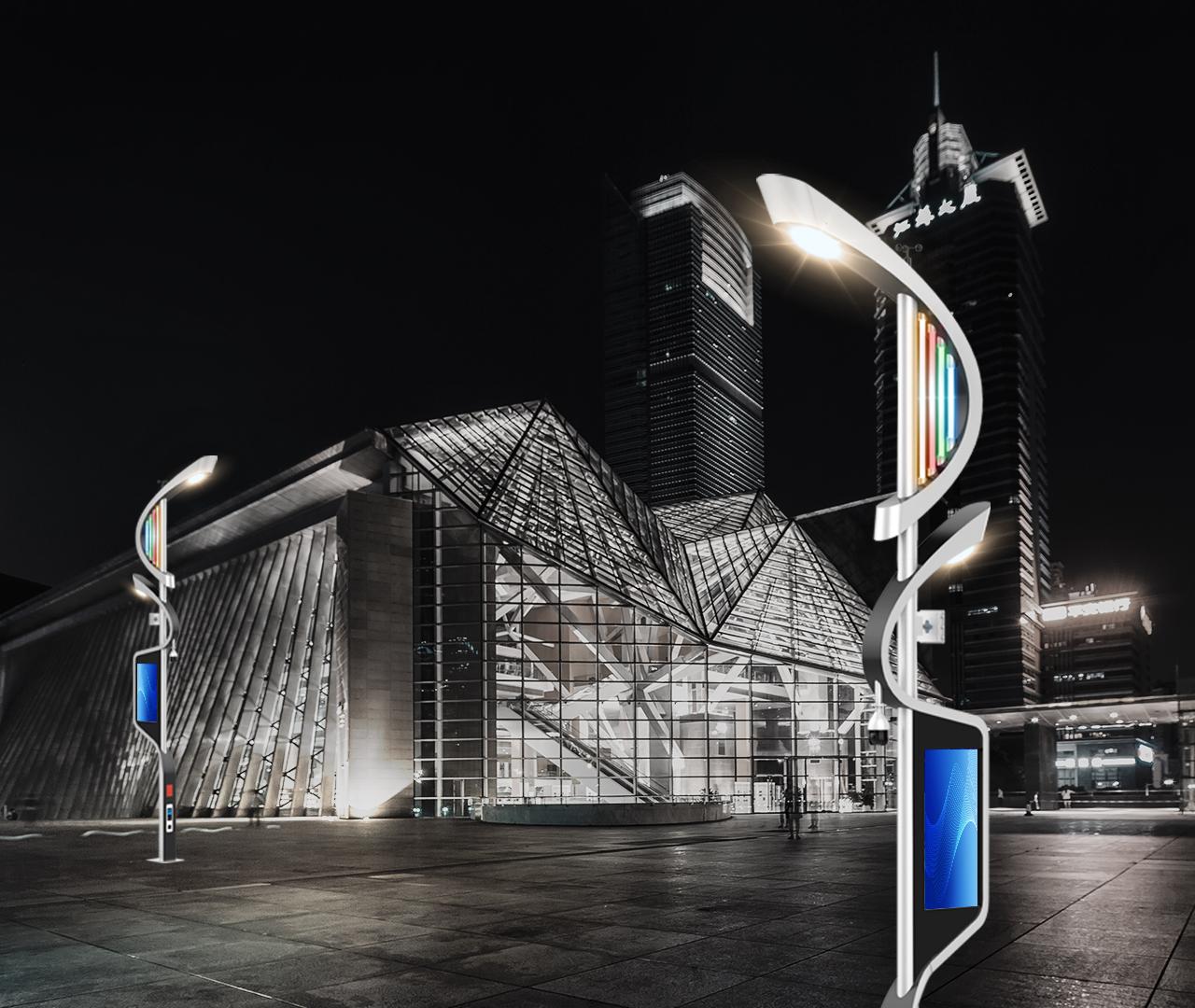 科技广场BoB全球体育投注平台道路路灯