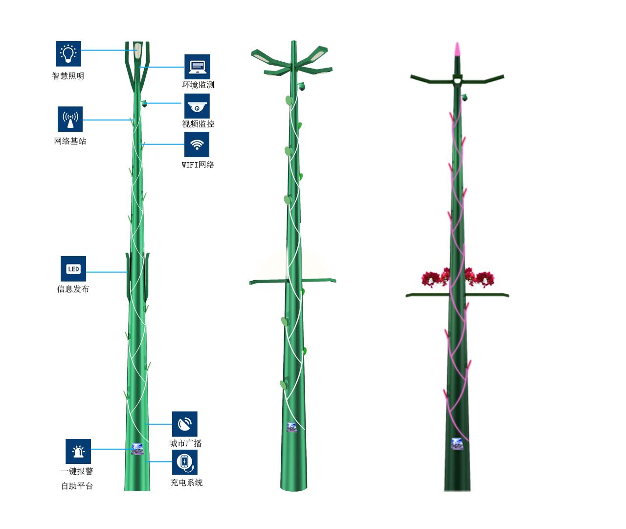 树干型BoB全球体育投注平台路灯