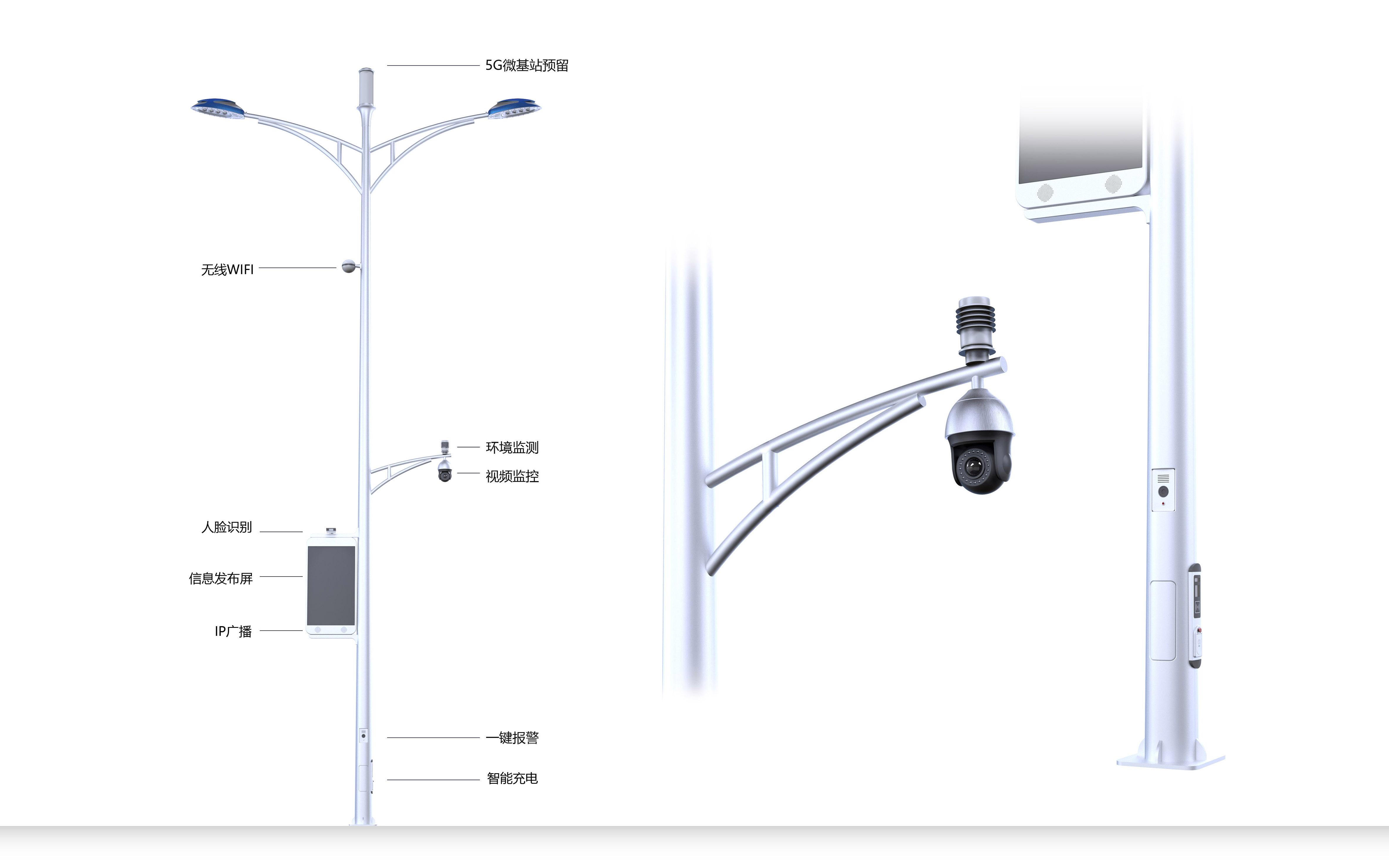 支架型BoB全球体育投注平台路灯