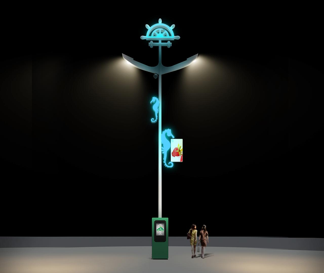 海马型BoB全球体育投注平台道路路灯