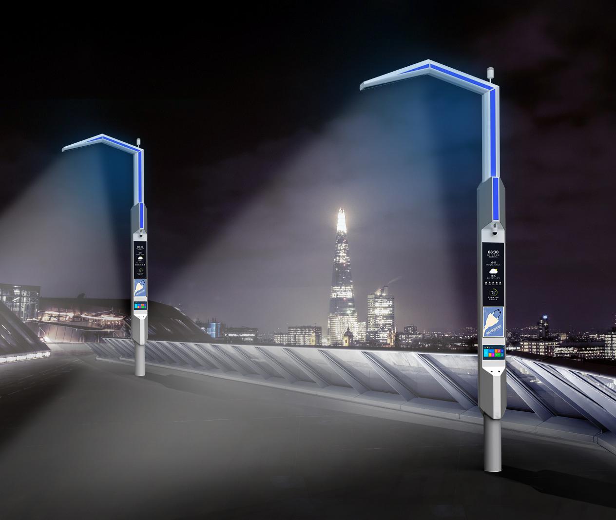 鹰嘴型BoB全球体育投注平台道路灯